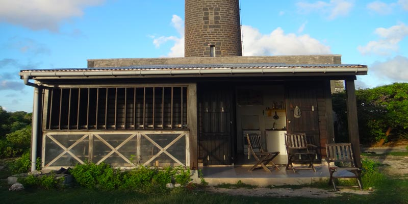 La maison en bois de surveillance