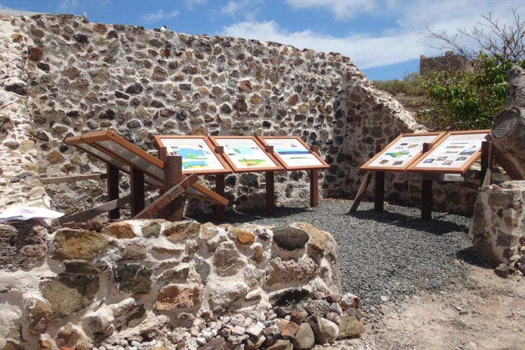 salle d'exposition géologique - réserve de la Désirade